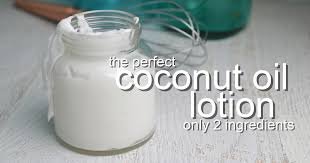 whipped coconut oil lotion recipe
