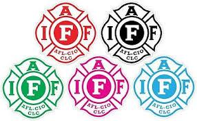 Fire Fighters International Association Iaff Red Vinyl Sticker Decal Afl Sizes Children S Bedroom Boy Decor Decals Stickers Vinyl Art Home Garden Writup Net