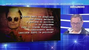 GFVip - La polemica su Fausto Leali che cita Mussolini - Domenica Live  Video