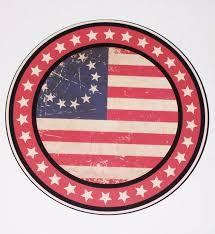 Betsy Ross Circle De Stressed Spirit Of 1776 American Flag Car Etsy