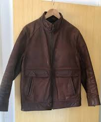 mens leather jackets in kingston