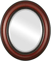 com oval wall mirror for home