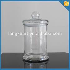 factory large glass apothecary jars