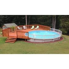Vinyl Works Of Canada Premium 24in Resin Above Ground Pool Fence Kits