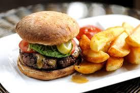 Beef Burger Recipe With Stilton Rarebit - Great British Chefs