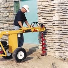 Towable Hydraulic Auger Rental The Home Depot