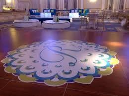 Custom Dance Floor Graphics Services