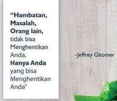 quotes dari jeffrey gitomer dalam bahasa inggris dan artinya