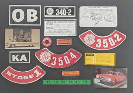 Dr Decal Restoration Decals For Muscle Cars Show Cars Classic Cars