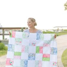 free baby quilt pattern for beginners