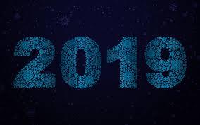 تحميل خلفيات 4k 2019 الثلج أرقام سنة جديدة سعيدة عام 2019 2019