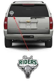 Rough Riders Lacrosse Team Sticker Package