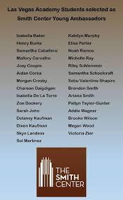 Congratulations to the LVA students who... - Las Vegas Academy of the Arts  | Facebook