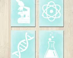 Science Kids Room Etsy