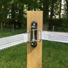 Electric Fence Tape Corner Insulator Double Buckle 4 Pack 12 Pack 20 Pack Ebay