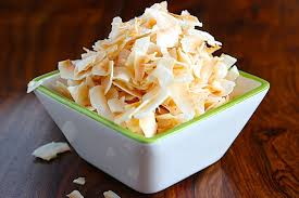 sweet n salty coconut chips and the