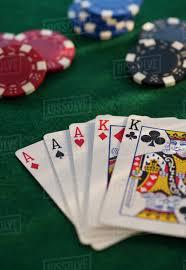 Poker table - Stock Photo - Dissolve