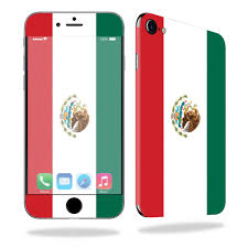 Mightyskins Protective Vinyl Skin Decal For Apple Iphone 7 Wrap Cover Sticker Skins Mexican Flag Walmart Com