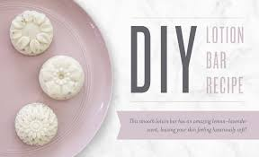 diy lotion bar recipe young living