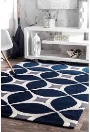 jamar handmade navy blue gray area rug