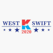 Amazon Com Tct Trading Kanye West For President Vinyl Stickers Waterproof Decal Car Laptop Bumper Stickers 5 Sports Outdoors