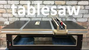 Diy Table Saw How To Make A Homemade Table Saw Youtube