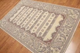 oriental pattern hand hooked 100 wool