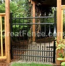 Aluminum Gates Pros And Cons Great Fence