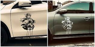 Re Zero Rem And Ram Anime Car Window Decal Sticker 009 5 99 Picclick