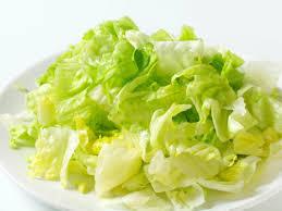 shredded iceberg lettuce nutrition