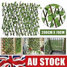 Privacy Screens Windscreens Uk Trellis Artificial Ivy Leaf Fence Wall Expanding Garden Uv Protected Decor Garden Patio Tallergrafico Com Uy