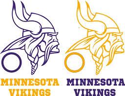 Minnesota Vikings Cornhole Set Of 6 Vinyl Decals Stickers Bean Bag Toss Game Nfl