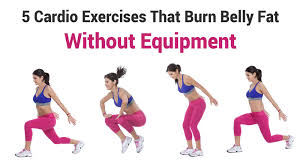 5 cardio exercises that burn belly fat