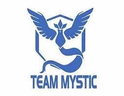 Team Mystic Pokemon Go Ice Blue Vinyl Decal Sticker 5 X 6 Free Usa Ship Ebay