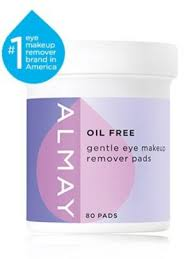 almay eye makeup remover pads oil free