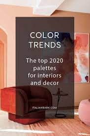 2020 2021 color trends top palettes for