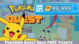 Pokemon Quest Hack PM Tickets MyMobile Cheat