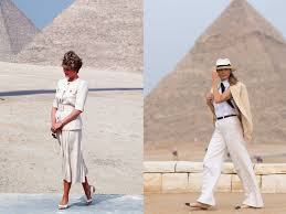 melania clothing and style on her