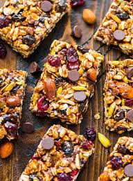 trail mix peanut er granola bars