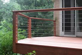 Cable Deck Railing Idea Oscarsplace Furniture Ideas Make A Cable Deck Railing