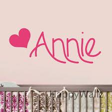 Baby Nursery Custom Name Wall Sticker Diy Personalized Name Wall Decal Kids Room Children Name Heart Wall Stickers C45 Heart Wall Stickers Name Wall Stickerswall Sticker Aliexpress