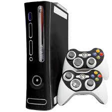 Elite Matte Black Xbox 360 Skin