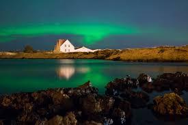 northern lights in iceland aurora