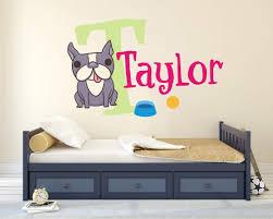 Colorful Puppy Wall Decal Nursery Stickers Decoration Baby Boy Girls Krafmatics