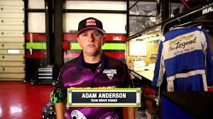 Adam Anderson joins the Grave Digger team - YouTube