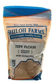 shiloh farms teff flour 16 oz vitacost