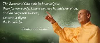 bhagavad gita radhanath swami quotes