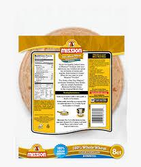 mission whole wheat burrito tortilla