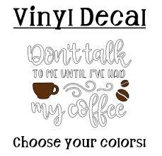 Coffee 3 Vinyl Decal Sticker For Coffee Cup Tumbler Mug Tumbler Car Ebay