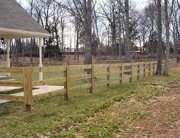 Post Rail Fence Nashville Murfreesboro Tn Clean Cut Fence